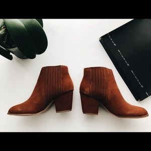 Steven by Steve Madden Suede Booties